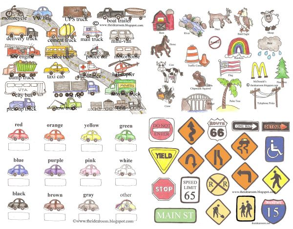 FREE Printable Road Trip Games and Activities. Great idea for entertaining kids on a long road trip!