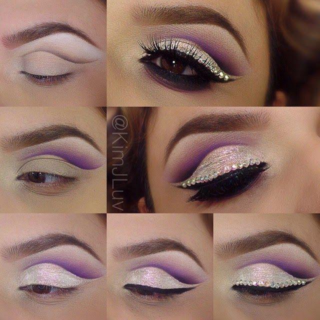 Elegant Rhinestone Eyeshadow Makeup Tutorial - Toronto, Calgary, Edmonton, Montreal, Vancouver, Ottawa, Winnipeg, ON