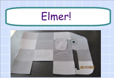 Elmer Elephant Project- I love the book Elmer