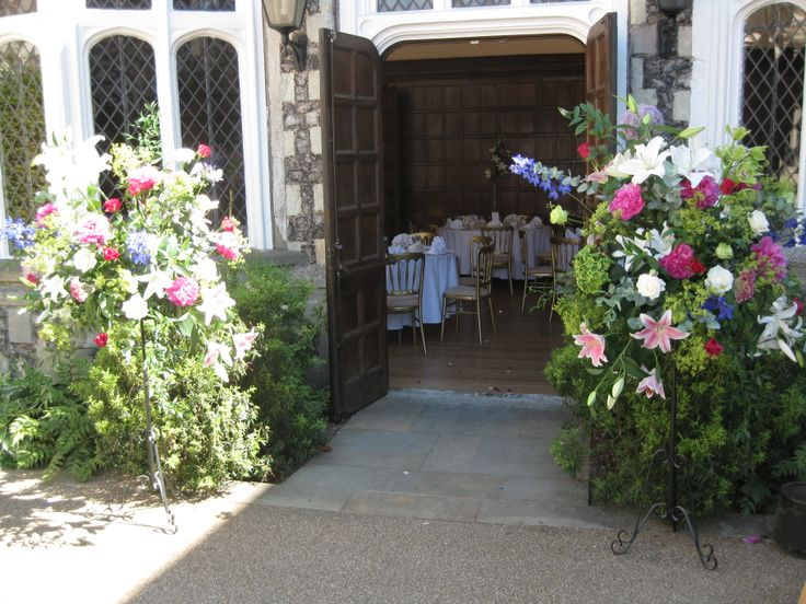 Colourful Pedestals to welcome guests back into the Great Hall
