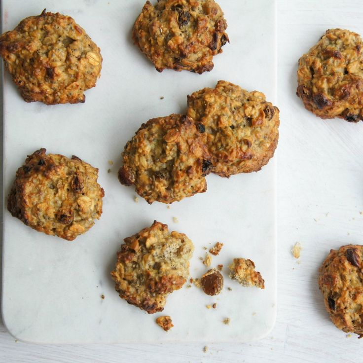 These Banana Chia Biscuits by -Emz- are perfect for the cookie jar.
