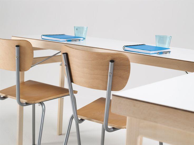 Fällbart konferensbord i bok - Fixbordet