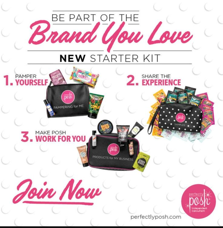 With these awesome new kits u get to decide what business tools u get & u get to place orders with discounts up to 50% in ur 1st 30 days. Chk out this Posh Math:  If u sell the contents of bag 3 you'll make back the $99. U PD for the kit, with money leftover, plus you'll still have to Posh for yourself & some to share!  What do u have to loose??? It's a win, win!!