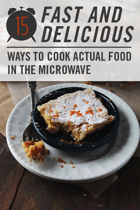 Microwave Foods - 15 Ways to Cook Unbelievably Lavish Food in the Microwave - Including lasagna, sweet potato chips and even tomato chips.