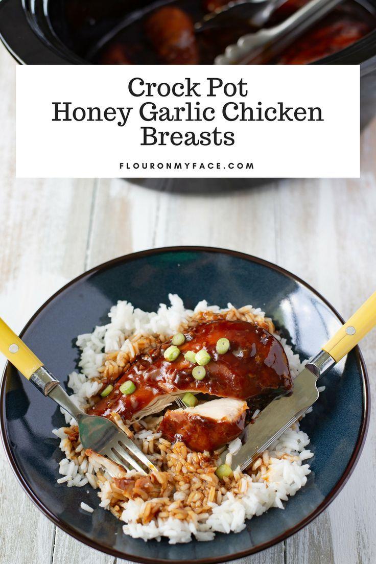 Crock Pot Honey Garlic Chicken Breasts Recipe