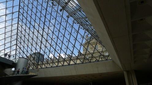 Piękny Paryż:  Musée du Louvre