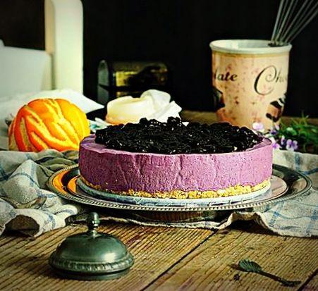 Mousse Cake ai Mirtilli… Una delizia che sa di bosco