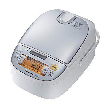 パナソニック 5.5合 炊飯器 IH式 シルバーホワイト SR-HC104-W