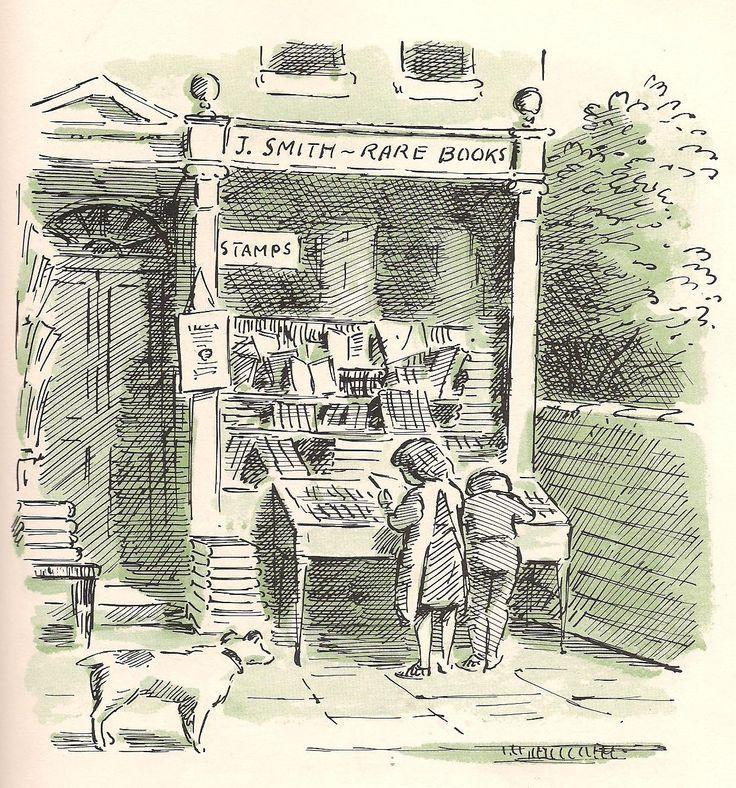 Book illustration by Edward Ardizzone