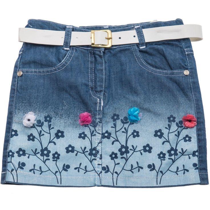 Cicili παιδική εποχιακή φούστα τζιν «Flowery» Κωδικός: 18180  €14,90 (-32%)