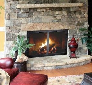 Best 25+ Fireplace glass doors ideas on Pinterest | Glass doors ...