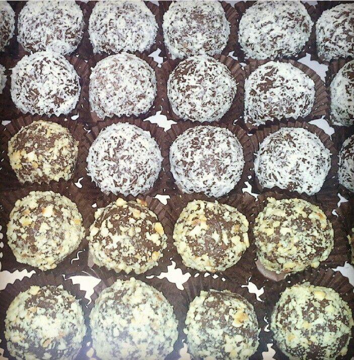 Truff fındıklı, hindistan cevizli,cikolatalı 0532 703 90 76