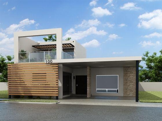 8 best fachadas de casas images on pinterest facades home ideas and house design - Casas nuevas en terrassa ...
