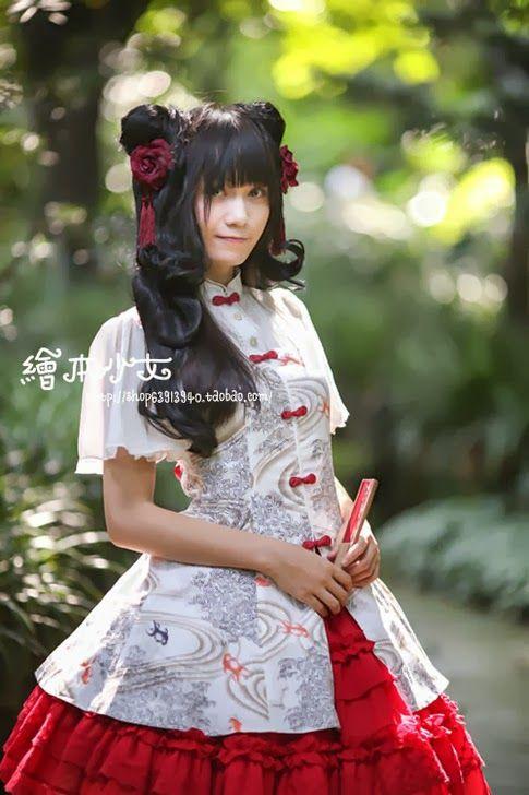 中国 コスプレ文化の発展と自国意識 : 「和ロリ」に続くは中華ロリ!チャイナドレスイメージのロリィタファッション「Qi Lolita」 - NAVER まとめ