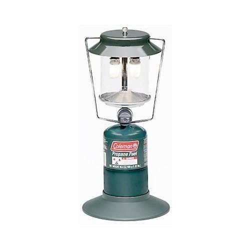 Coleman 2-Mantle Propane Lantern Silver 2000009035