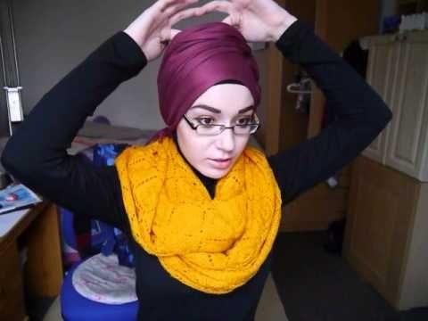 ▶ Hijab tutorial l Turban Knot Twist - YouTube