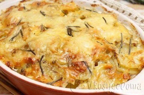 Куриное филе в духовке под картофелем ·
