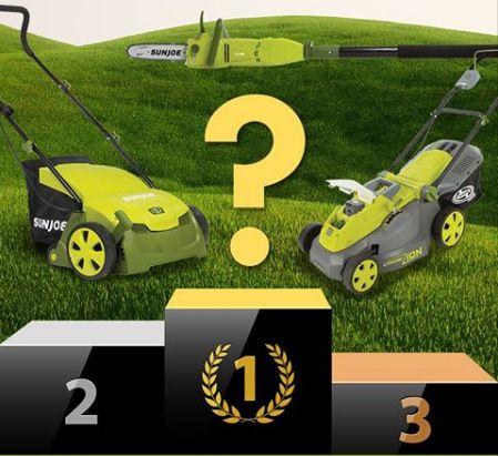 Snow Joe - Win a Lawn Mower, Dethatcher or Pole Chain Saw (6 Winners) - http://sweepstakesden.com/snow-joe-win-a-lawn-mower-dethatcher-or-pole-chain-saw-6-winners/