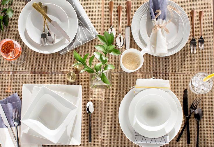 Colleen 16 Piece Dinnerware Set, Service for 4