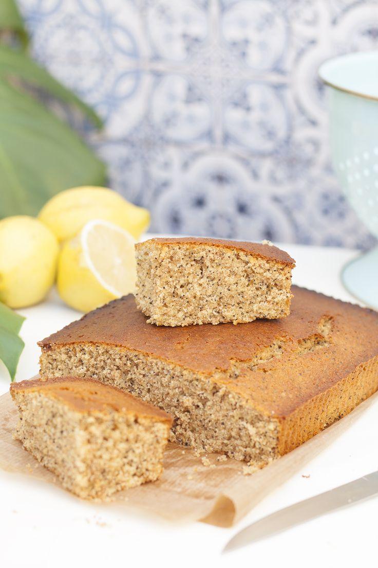 Delicioso Pan de limón con semillas de amapolas paso a paso
