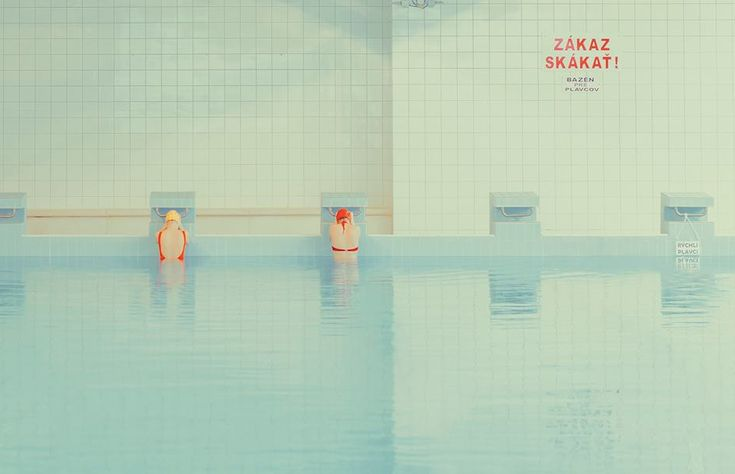 The Swimming Pool series by Maria Svarbova — Designcollector