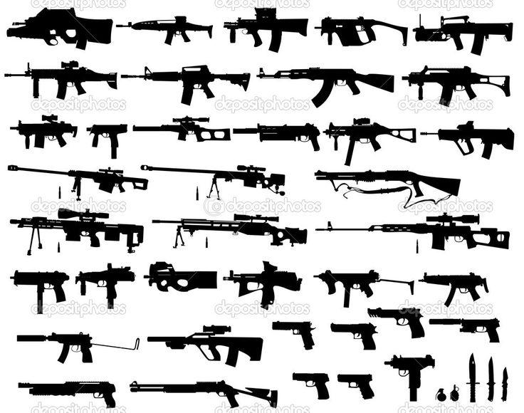 Yükle - Büyük silah paketi — Stok İllüstrasyon #4399403