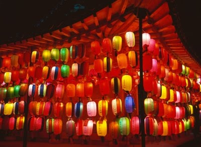 Chinese lantern festival...I'm sure this is just spectacular in person