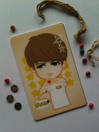 Exclusive CARD | acrylic Woohyun ver. | ready to SALE (ORDER NOW) | @ 17K IDR (per item) (convr: 2 USD)| created by +Ratna Har (Little Lumut)
