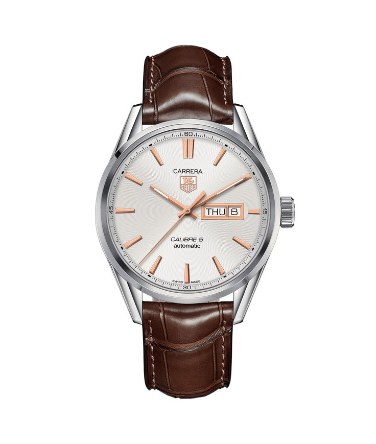 TAG Heuer Carrera Calibre 5 Day-Date Automatic Watch 100 M - 41 mm WAR201D.FC6291 TAG Heuer watch price