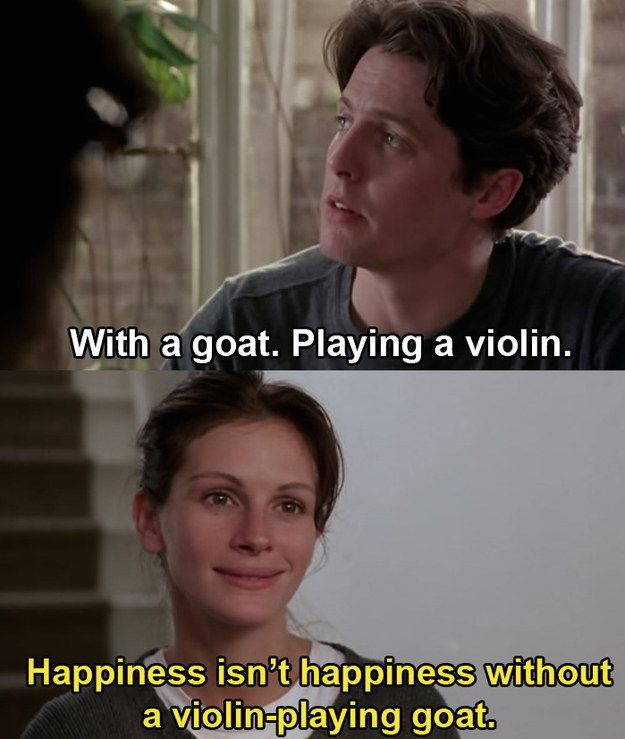"Things are good. Anna may be a movie star, but she's finding some much needed normalcy with William. | Here's The Beautiful Detail In ""Notting Hill"" You Probably Missed"