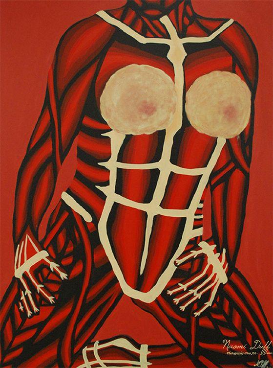 Painting: 5 of 8 Body Language Series
