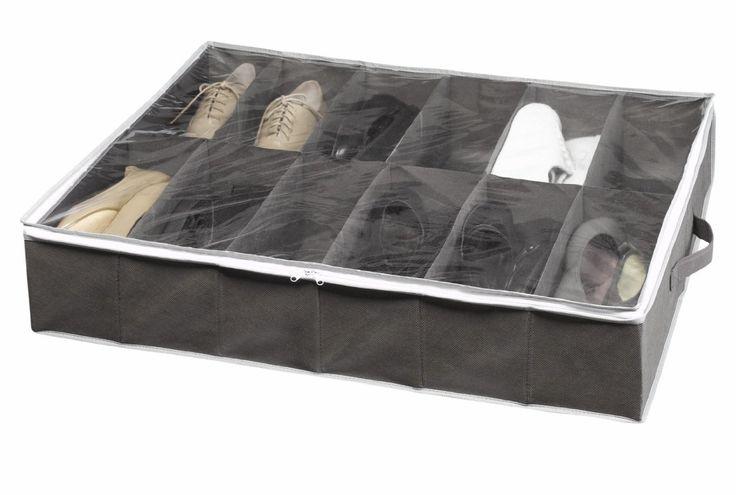 Rangement et Cie RAN4481 Housse Dessous de Lit pour Rangement Chaussures: Amazon.fr: Cuisine & Maison