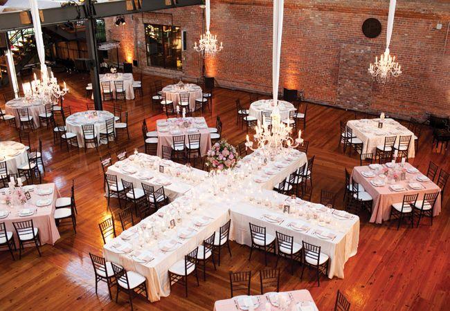 Nuevas tendencias para organizar las mesas de la  recepcion!! ahorras espacio, centros de mesa..