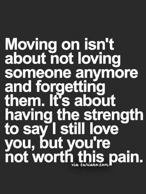 Love shouldn't hurt the heart or soul, always remember that. Even the feelings you may still have for them don't make enduring a life of pain worth it.