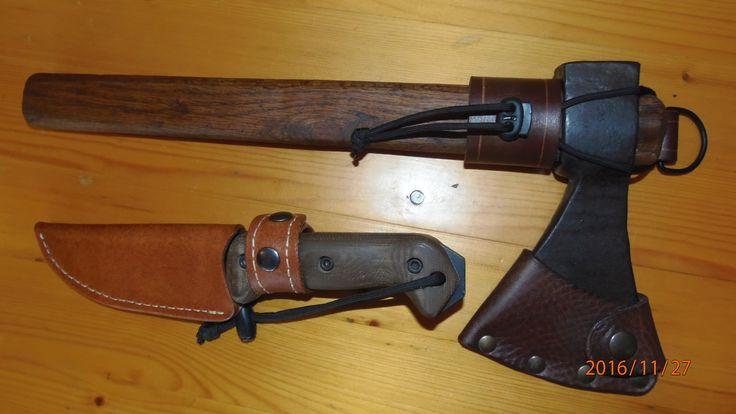 Italian axe and Bk2