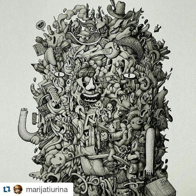 #Repost artwork karya @marijatiurina  Follow tag dan mention hasil gambarmu pada kami dan dapatkan kesempatan tutor dengan artist-artist gambar Indonesia. Juga kesempatan menjadi salah satu artist di @sneakypieceproject  A Happiness Project by @sneakypiece  #draw #doodleart #doodleindonesia #doodleadict #doodle #drawing #drawingoftheday #instaartoftheday #instadraw #instaartist #instaartsy #instaarts #instaarthub #instaartistic #instaartwork #fullofdoodleart #art #artgallery #artnews…