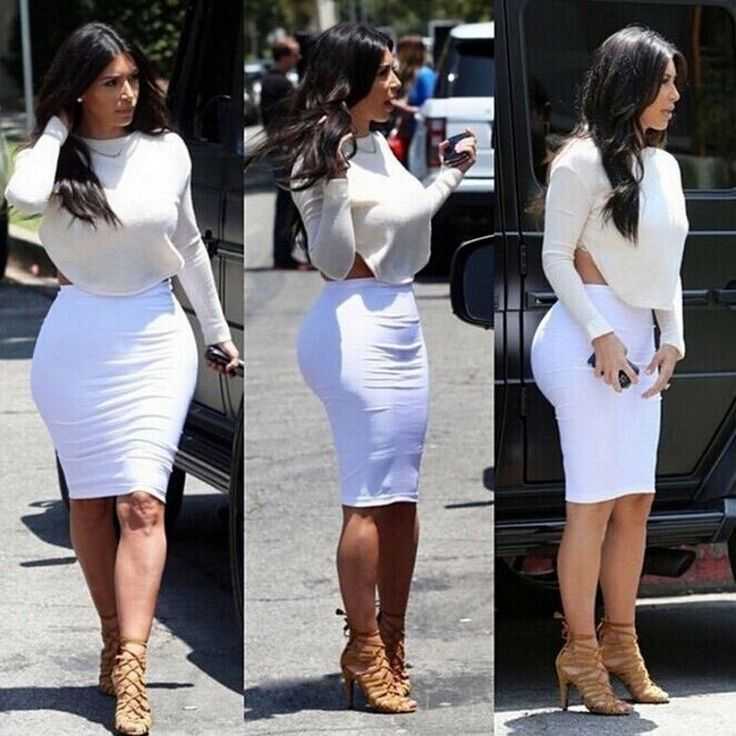 17 Best images about Kim K bodycon skirts on Pinterest | Open back ...