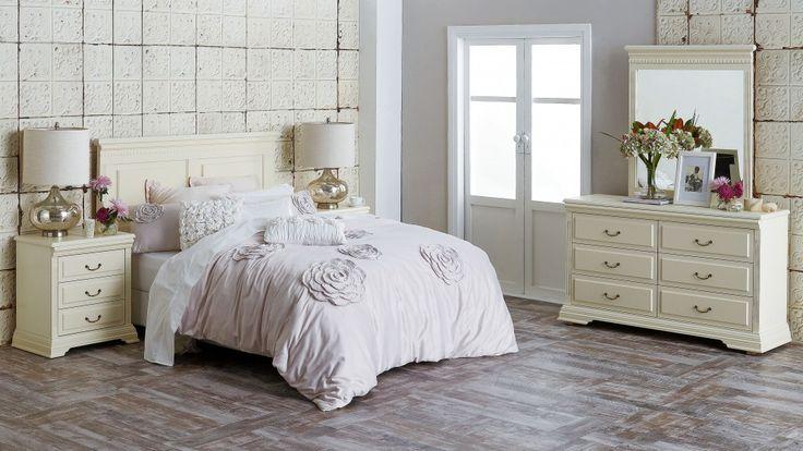 Victoria 4 Piece Queen Bedroom Suite - Beds & Suites - Bedroom - Beds & Manchester | Harvey Norman Australia