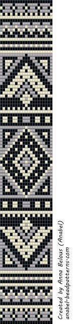 схемы бисероплетения браслеты ручное ткачество орнаменты