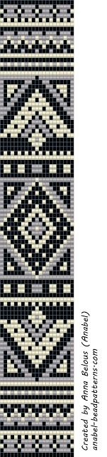 scheme beading bracelets hand weaving patterns