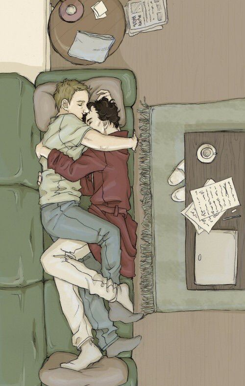 Image via We Heart It https://weheartit.com/entry/168402834 #johnlockfanart