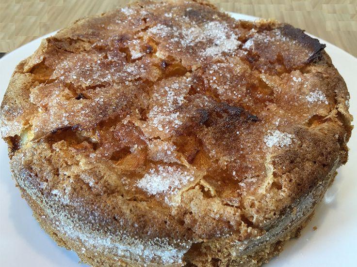 """Il buongiono più soffice che c'è ha il profumo di questa squisita torta di mele e cannella #senzaglutine :) #PortaInTavolaMagia #lamiaricettasunutrichef Grazie Paola di """"In viaggio senza glutine"""" <3"""