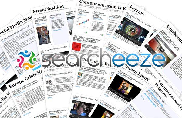 "Searcheeze...make your own ""newspaper"" with Web content: Web Content, Social Media, Di Stefano, Media Marketing, Content Curator, Collection Texts, Searcheez Press, Stefano Passatordi, Press Clips"