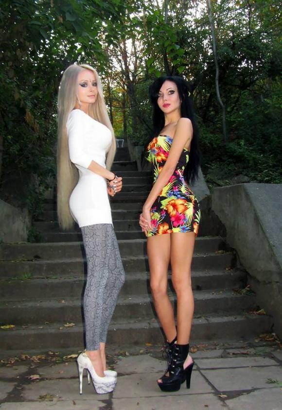 High Heel Fashion Dolls