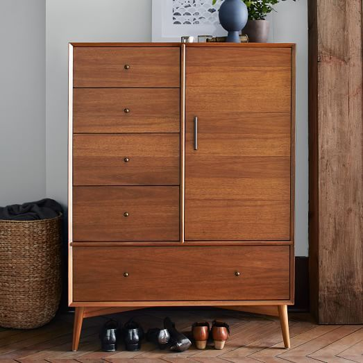 Mid century chifforobe acorn meubles jolies et d co for Meuble mid century montreal