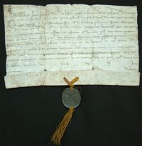 MASC Featured Item - Papal Bull | WSU Libraries