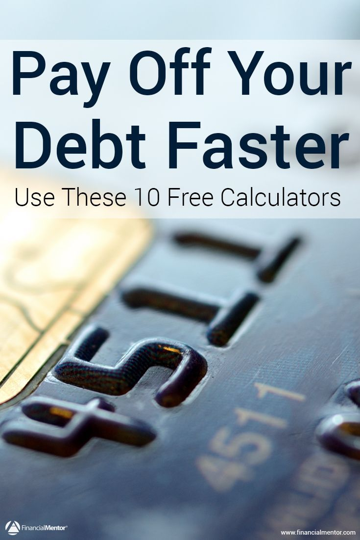 Paying off your debt can feel amazing, but you won't get there without a plan, and to have a plan, you need to know your numbers. Use these free debt payoff calculators to figure out your debt free date, how much money you're paying toward interest, which debt payoff strategy is the cheapest, and more.