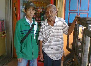 Bertemu Mbah Slamet Suradio (Masinis KA 225 Dalam Tragedi Bintaro Tahun 1987) | Widodo Groho Blog