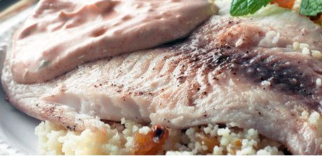 Moroccan Tilapia with Couscous