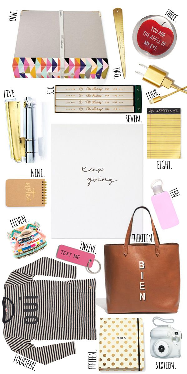 Currently Coveting      Back To School Essentials - I want all of these!